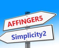 SimplicityからAFFINGER5へテーマ変更!比較検討